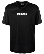 New Era - Oakland Raiders - Mesh Loose Fit Jersey - Black (Size Medium - XXL)