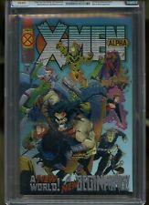 X-MEN ALPHA #1 CGC GRADED 10 GEM MINT WHITE PAGES 1995 CHROME COVER #0134071010