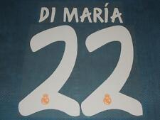 Spanish La Liga  2013-2014 Real Madrid #22 Di Maria Awaykit NameSet Printing