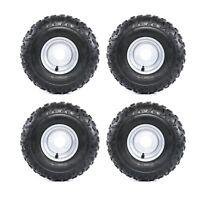 4x 145/70-6 Knobby Tyre Rim Wheel LT50 quad 50cc 70cc ATV 6 inch 145x70-6