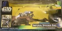 Kenner 1997 Star Wars The Power Of The Force Radio Control Imperial Speeder Bike