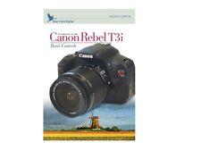 Blue Crane Digital Basic Controls Training DVD for Canon Rebel T3i