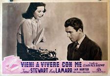COME LIVE WITH ME/JAMES STEWART/1940/OPTIONAL SET FOTOBUS