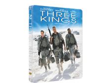 THREE KINGS Blu ray Steelbook ( CLOONEY WAHLBERG CUBE )  ( NEW )