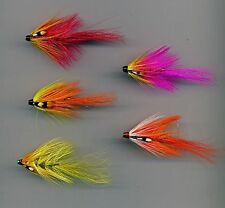 Tube Flies: Flaming Pigs. 38 mm long Solid Brass Tubes x 5 (Code 412)