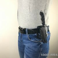 """2 Colors 9"""" Outdoor Fixed Blade Knife Survival Hunting ABS Sheath w/ Belt Clip"""