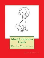 Mudi Christmas Cards : Do It Yourself by Gail Forsyth (2015, Paperback)