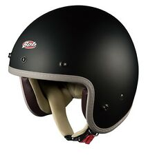 OGK KABUTO BOBZ FLAT(MATT) BLACK Helmet Japanese Model