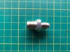 "Goodridge Brake adaptor 3/8x24 unf to 1/2""x20 UNF Inverted flare plated steel"