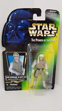 STAR Wars Potere della Forza Verde Holo Luke Skywalker Hoth Action Figure 1997