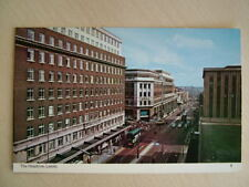 Postcard - THE HEADROW, LEEDS.  Smaller standard size. Unused. (2)