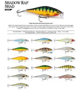 Rapala Shadow Rap Shad // SDRS09 // 9cm 12g Fishing Lures (Choice of Colors)