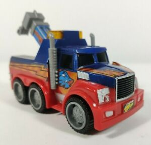 ROAD RIPPERS Tow Truck City Service Fleet Toy State Moves Lights Sounds Tested