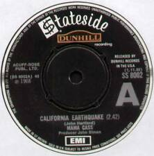 "[CASS ELLIOT] MAMA CASS ~ CALIFORNIA EARTHQUAKE ~ 1968 UK ""DEMO"" 7"" SINGLE"