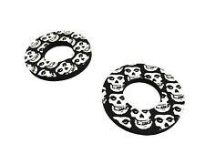 Black Skull Donuts Thumb Blister Protection Fits RM85 L (Big Wheel) 02-16