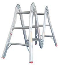 INDALEX Tradesman Aluminium Multipurpose Ladder 13ft 1m - 3.95m