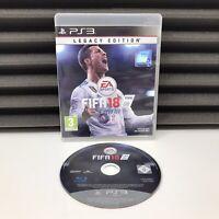 FIFA 18 Legacy Edition | PlayStation 3 (PS3) | Sony | VGC | PAL