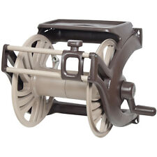 New listing Fully Assembled 17-in H x 23-in W Plastic 225-ft Wall-Mount Garden Hose Reel