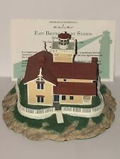 East Brother Light Station Richmond Ca Danbury Mint Historic American Lighthouse