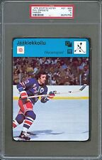 1978 Sportscaster Finnish Card PHIL ESPOSITO New York Rangers PSA 5 Very Rare!!