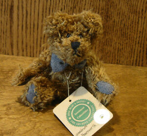 """Boyds Plush 57251-05 WOODRUFF K BEARSFORD, 6"""", NEW/Tag From Retail Store Jointed"""