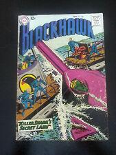 DC, Blackhawk, No. 128, Sept. 1958, Fine-, Killer Shark, Zorro Ad. on Back