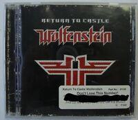 RETURN TO CASTLE WOLFENSTEIN PC GAME CD ROM