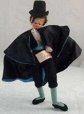 Vintage Munecas Maria Roig Cloth Gentleman w/ Top Hat Doll #6441 Klumpe Roldan