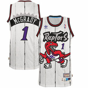 NBA Toronto Raptors Tracy McGrady Hardwood Classic Home Swingman Jersey
