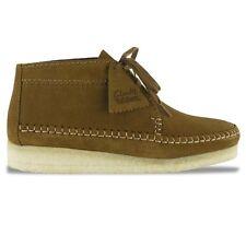 Clarks Originals Weaver Boot in Cola Suede 9 UK