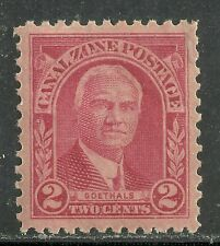 U.S. Possession Canal Zone stamp scott 106 - 2 cent issue of 1928 - mnh  #4