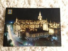 Sevilla Spain The Cathedral Nocturnal Post Card No. 146