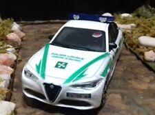 Alfa Romeo Giulia 117 RRM  Polizia Locale di Milano 1/43 artigianale