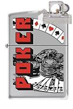 Zippo 7697 poker Lighter with PIPE INSERT PL