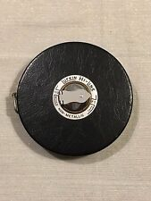 Vintage Lufkin Hi-Line 100ft Non-Metallic Woven Tape Measure Made in the USA