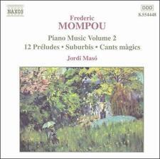 Frederic Mompou: Piano Music, Vol. 2, New Music