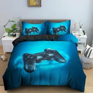 Video Game Bed Sets Comforter Gaming Themed Bedroom Decor Bedding Home Textile