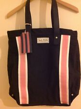 JACK WILLS BETTON TOTE BAG PINK NAVY BNWT great gift idea