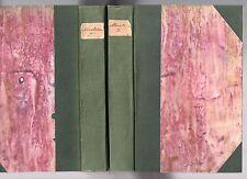 DE BACOURT CORRESPONDANCE MIRABEAU LA MARCK 1789-1791 COMPLET 1851 REVOLUTION