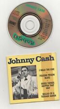 "johnny cash - i walk the line rare 3""cd"