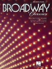 Broadway Classics Play MEMORY Hello Dolly On My Own Big Note Piano Music Book