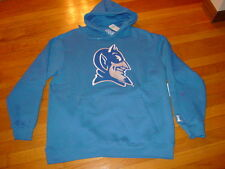 DUKE BLUE DEVILS  Embroidered Hooded Basketball Sweatshirt NWT sz.... LARGE
