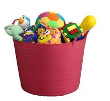 26L FLEXI TUB / TOY BOX / KIDS / CHILDREN / CHILD / STORAGE / TIDY / BUCKET
