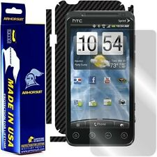 ArmorSuit MilitaryShield HTC EVO 3D ( Sprint ) Screen + Black Carbon Fiber Skin