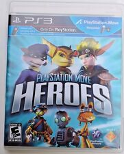HEROES Playstation 3 (PS3; PS Move Required) Guaranteed! FREE SHIPPING!!!