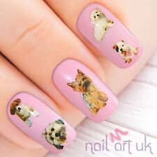 Dog Puppy Terrier Nail Stickers, Water Decals, Tatoos, Transfers 01.03.039