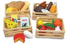 Melissa & Doug Food Groups Pre-School Young Children Wooden Toys Games Bn
