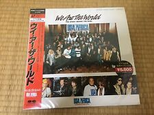 We Are The World The Story Behind The Song Laserdisc LD Japan Obi