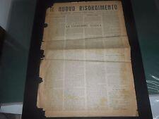 1945 IL NUOVO RISORGIMENTO EDITO A BARI DIRETTORE VITTORIO FIORE TIP. GINESTRA
