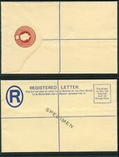 Bahamas 1938 KGVI 2d red Registered Envelope overprint SPECIMEN unused H&G C5a.